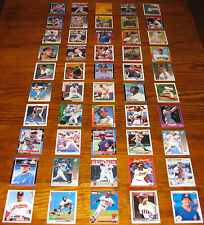 Cleveland Indians Wholesale Baseball Card Lot 50 Cards MLB Team Set Thome Manny