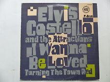 """MAXI 12"""" ELVIS COSTELLO I wanna be loved ZC 68188"""
