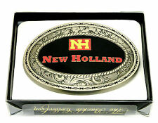 New Holland Agriculture Belt Buckle Western Style Spec Cast Officially Licensed