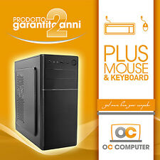 PC DESKTOP INTEL QUAD CORE RAM 4GB HD320GB DVDRW/HDMI/USB 3.0/ASSEMBLATO FISSO