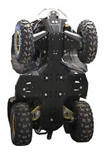 CanAm Renegade 500 570 800 850 1000 G2 HDPE plastic skid plate kit Iron Baltic