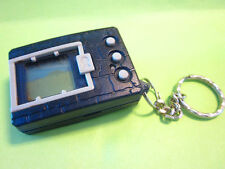 1997 BANDAI DIGIMON DIGIVICE DIGITAL MONSTER GAME SOLID BLUE CASE ENGLISH *NICE*