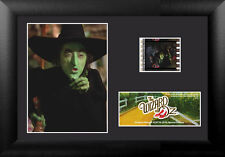 Film Cell Genuine 35mm Framed & Matted Wizard of Oz Poster Wicked Witch S10 5770