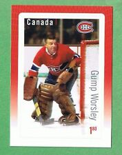 CANADA 2015 GREAT CANADIAN NHL GOALIE GUMP WORSLEY - MONTREAL CANADIENS STAMP