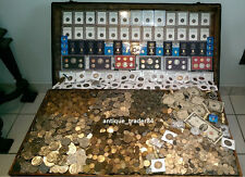 ☆ 100 Coin Lot From Old Estate Hoard! ☆ GOLD .999 SILVER BULLION Ancient Roman ☆