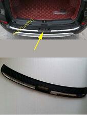 Rear Bumper Protector Sill Plate for 2015-2016 Honda CR-V CRV door ABS
