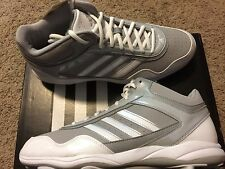 Adidas Excelsior Pro Men's Metal Mid-Top Baseball Cleats Onyx/White Size 12  $90