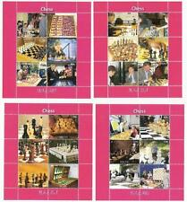 Ajedrez Chess 2011 malawi mnh 4 sheets children & Champions