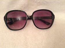 BNWTT 100% auth Missoni, Ladies Black sunglasses with logo. RRP £340.00