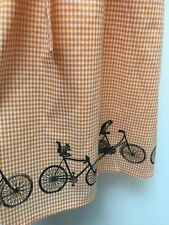 Modcloth Gingham Squirrel Owls On Bicycles NWOT M Runs Small