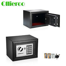 Ollieroo Small Digital Electronic Safe Box Keypad Lock Home Office Hotel Gun