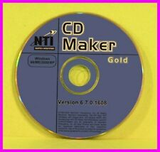 NTI Easy-to-Use CD and DVD MAKER GOLD 6.7 98 ME NT 2000 XP Burner WAV Editor NEW