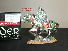 KING AND COUNTRY MK65 CRUSADERS SARACEN KNIGHT WITH SWORD MOUNTED TOY SOLDIER