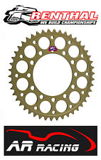 Renthal 47 T Rear Sprocket 404-520-47HA - Honda CBR 600 F 91-98 520 Race Pitch