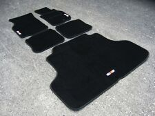 Car Mats to fit Mitsubishi Lancer Evolution 4 RHD (Evo IV) + Boot Mat + RalliArt