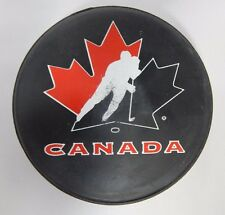 Official Team Canada Hockey Puck By Bauer Rare