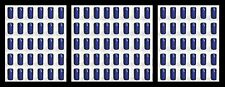 SHRINK CAPS 100 COBALT BLUE PVC CAPSULES HEAT FOR WINE BOTTLES WINEMAKING MAKING