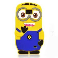 Cover CUSTODIA per SAMSUNG S2 Silicon 3D CATTIVISSIMO ME DESPICABLE MINION