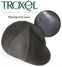 Troxel Waterproof Resistant Riding Helmet Cover Black Show English Hunt Seat