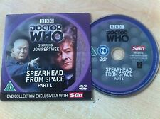 DOCTOR WHO Dr Who Spearhead From Space Part 1 DVD