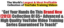 Largest Collection Of  YouTube Training Videos on 1 CD