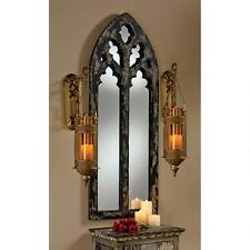 "Huge 54"" Mirror in shape of Gothic Cathedral Arch Replica Reproduction"