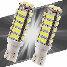 2X Car Super Bright White T10 68SMD LED Reverse Lights Bulbs - W5W 194 921 168