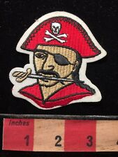 Red Hat Pirate Patch ~ Skull & Crossbones. 69WD