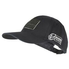 Voodoo Tactical Hunting Cap with US Flag Fully Adjustable Black 20-9353