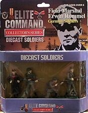 BBI 1/32 WWII 4 Pc Set of Diecast Metal WWII German Soldiers With Rommel