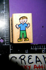 HEROKIDS SMALL BOY RUBBER STAMPS HERO ARTS A1680