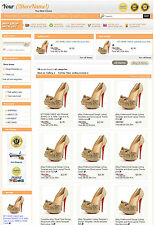 eBay Professional Design Listing Template and Store Layout Theme Orange