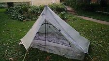 ZPacks Altaplex tent, polycro ground sheets & stakes included! Cuben Dyneema