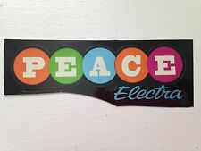 Electra Bicycle Company - peace - Bicycle Sticker Decal