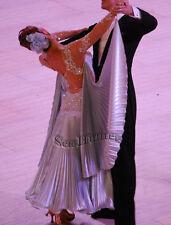 K3471 Formal gown Ballroom tango waltz foxstep standard dance dress Tailor made