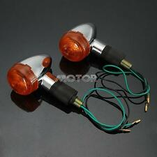 10mm Bullet Turn Signals Lights For Kawasaki VULCAN VN 800 900 1500 1700 2000 US