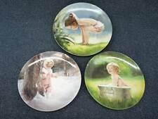 Donald Zolan Collectors Plates Lot Of 3 (h2016)