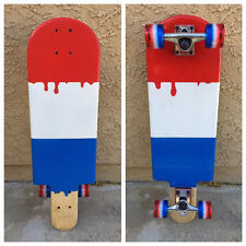 Popsicle Skateboard Red, White & Blue