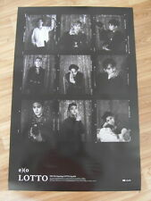 EXO - LOTTO (TYPE A) EX'ACT REPACKAGE [ORIGINAL POSTER] K-POP *NEW*