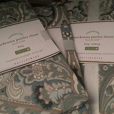 BNWT Pottery Barn  Mackenna  Duvet/Shams **Full/Queen** W/Shams (Standard)