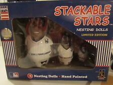 Coopersburg Sports Stackable Stars Nesting Dolls NY Yankees Soriano rare