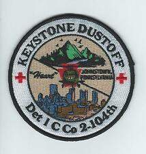 "DET 1 C CO 2-104th ""KEYSTONE DUSTOFF"" patch"