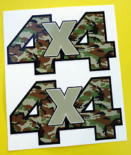 4X4 OFF ROAD STICKERS DECALS 'CAMO' ideal for Land Rover Defender Discovery