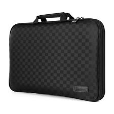 Burnoaa 11.6-Inch Laptop Tablet Case Sleeve Memory foam Bag A5W Checkered Black