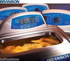 "NEW ! Branson CPX2800H Ultrasonic Bath, 0.75 Gal, 9.5"" x 5.5"" x 4"", CPX-952-218R"