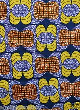 Cheap African Print Ankara 100% Cotton Bright Permanent Colors Sold Per 6 Yards