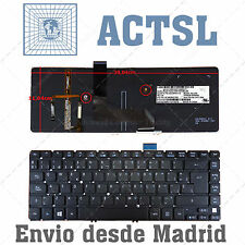 Teclado Español para Acer Aspire Ultrabook NK.I1417.06W with Backlit