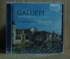 CD Galuppi complete Concertos for Strings Ensemble stilmoderno BRILLIANT NUOVO OVP