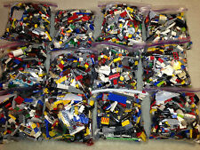 LEGO 1-99 Pounds LBS Parts & Pieces HUGE BULK LOT bricks blocks w/ 1 MINIFIG