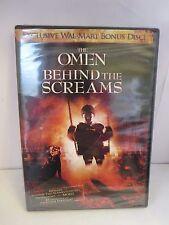 The Omen: Behind the Screams (Walmart Exclusive Bonus DVD, 2006) **BRAND NEW**